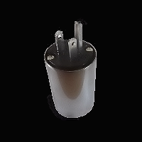 power connector silver usa